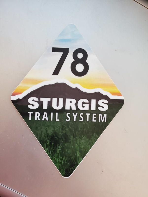 Sturgis Trail System Sticker